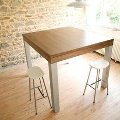 1000 images about table haute cuisine on pinterest bar - Table haute pliante pas cher ...