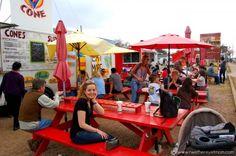 Austin:  Food trucks