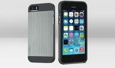 Logirech Case+ es una carcasa/funda modular para el iPhone 5/5S que permite darle multiples usos.