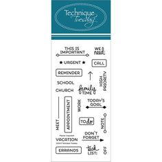 Technique Tuesday-Clear Stamps. Bring a positive attitude to your paper crafts! These stamps are made of the highest quality photopolymer. This