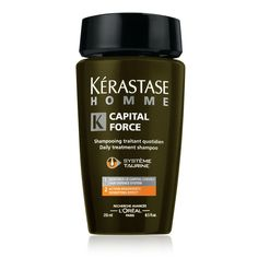 Kerastase Bain Capital Force Densifying ... A men's shampoo for thinning hair.