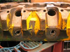 The Tractor Lad - Starting the - vintage tractor restoration specialists Vintage Tractors, Cylinder Head, Just Giving, Restoration, Antique Tractors