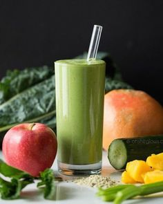 16. Green Warrior Protein Smoothie #protein #smoothies #recipes http://greatist.com/eat/high-protein-smoothie-recipes