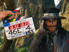 Johnny Depp as the Wolf in Into the Woods