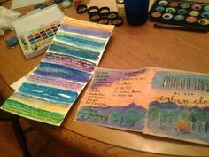 Paint it with watercolor. | 16 Cool Ideas For Homemade Mix CD Artwork