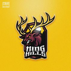 King of the Hills mascot Logo  GRVS Team  Open Commision work, contact Me at febryan.satria1@gmail.com  #deer#moose#elk#deers#awesomedesign#graphicdesigner#logo#logoinspiration#designgraphic#logoplace#logoinspire#awesomelogo#badgedesign#esportslogo#sportslogo#graphicdesign#mascot#sportbranding#logodesigns#logogaming#logoselect#logogame#esports