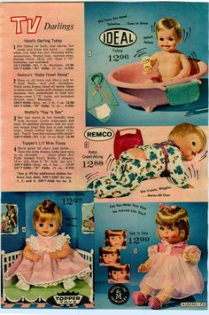 1967 Advertisement Ideal Remco Baby Doll Santa Special Chatterbox Tubsy Fussy | eBay