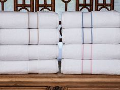 Indulgence - Luxury Towels - The quintessence of classic chic, finest White 100% cotton terry from Turkey gives you an enticing 600 grams per square meter. #towels. #BathLinen #SchweitzerLinen #luxury