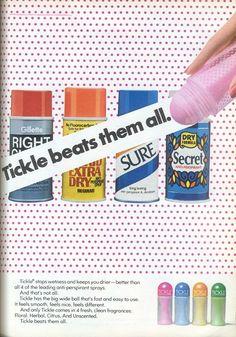 1970's Tickle Deodorant