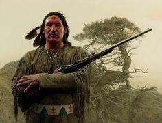 Southern Cheyenne Warrior, by James Bama. kK