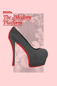 The History Of The Platform Shoe- 70s, 90s, And Today