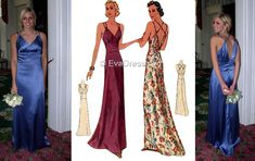 Mccalls Patterns, E30, Evening Gowns, Gallery, Fabric, Evening Gowns Dresses, Tejido, Evening Dresses, Tela