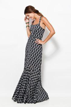 vestido cachoeira amora prata lado, R$598