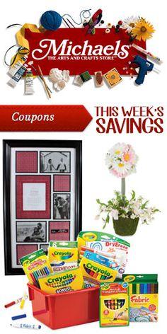 This Week's #Savings at #Michael's