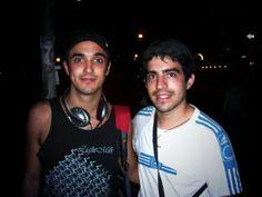 Con Abel hace un par de años