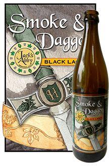 Jack's Abby Brewery - Smoke & Dagger (MA)  Delicious Rauchbier!