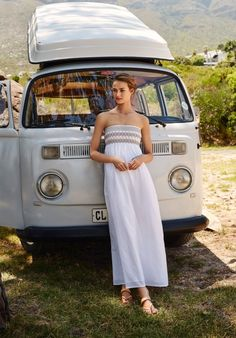 Imagine floating around in this on holiday (or a rare hot day here.) Mandalay Maxi Dress