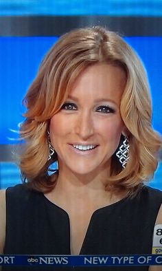 Lara Spencer from Good Morning America wearing our Signature Clover Earrings ONLY $49