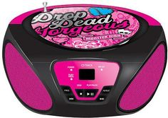 Radio CD para niños Monster high Boombox $39.90