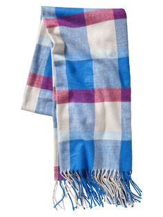 Plaid scarf #GapLove