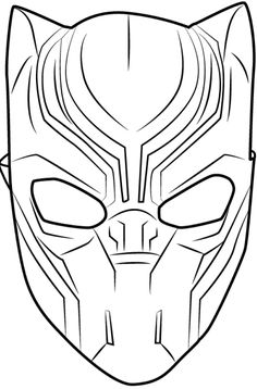 Black Panther Coloring Pages Black Panther Pinterest Black