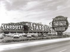 Las Vegas. The Stardust no longer exists. The sign (lit at night) was spectacular!