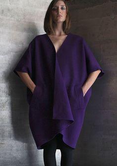 071d86fb3 Asiatica Wrap Vest in Purple #Cashmere Basic Wardrobe Pieces, Wardrobe  Basics, Japanese Textiles