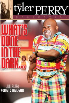Tyler Perry's What's Done in the Dark - The Play -...: Tyler Perry's What's Done in the Dark - The Play - Tyler Perry | Comedy… #Comedy