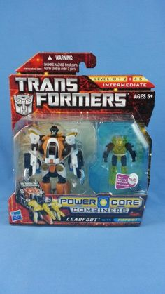 Transformers Power Core Combiners LEADFOOT with PINPOINT New MOSC
