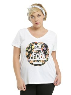 Fall Out Boy Floral Girls T-Shirt Plus Size | Hot Topic