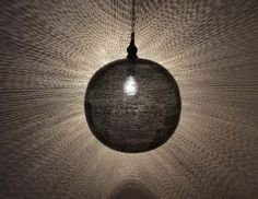 "Moroccan 16"" Black Oxidized Brass Pendant Light Lamp 1 | eBay"