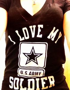 Army girlfriend; I love my soldier