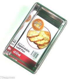 Expandable loaf pan $19.99