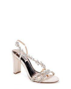 419d02b681f Felda Crystal Embellished Strappy Evening Shoe
