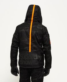 5474fc8d9b91 Superdry Veste Ultimate Snow Rescue Noir