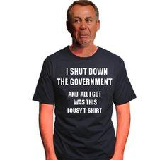 Boehner didn't get anything