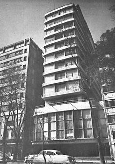Edificio Bush, Paseo de la Reforma 107, Col. Tabacalera, Cuauhtémoc, México D.F 1948    Arq. Carlos Lazo    Bush Building, Paseo de la Reforma 107 , Mexico City 1948