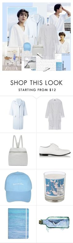 """""""Blow Breeze"""" by rainie-minnie ❤ liked on Polyvore featuring Oris, rag & bone, Kara, Common Projects, Maison La Bougie, Kess InHouse and S'well"""