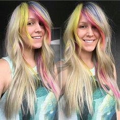 @pntransue just STUNNING!!! Hair colour by @katiezimbalisalon SHOW SOME UNICORN LOVE AND GIVE THEM A FOLLOW! #rainbow #rainbowhaircolor #rainbowcolors #mermaidhair #creativehair #vivid #vividhair #vividhaircolor #inspirestyles #mermaidhair #mermaid #unicornhair #unicorntribe #unicornhair #colorful #colorfulhair #longhair #haircolor #btconeshot_color16 #btconeshot_rainbow16 #artist #beautylaunchpad #behindthechair #americansalon #adorehaircolor #modernsalon #longhair #balayage