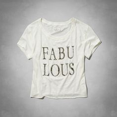 Fabulous Graphic Tee.
