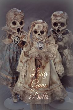 Victorian Mourning-Grave Dolls