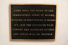 Jenny Holzer, Living: Some days you wake and immediately..., 1982, Contemporary