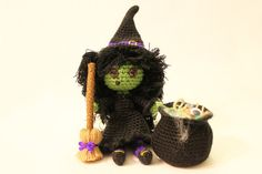 PATTERN Instant Download Zora The Witch Crochet by Sahrit on Etsy, $7.00