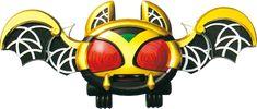 Kivat-bat the (キバットバットIII世 Kibattobatto Sansei, called Kivat for short) is a character in Kamen Rider Kiva serving as the Kivat partner and transformation device of the protagonist, Wataru Kurenai. Henshin Belt, Kamen Rider Wiki, Imperial Dragon, Kamen Rider Decade, Queen Ii, Hero World, Family Jewels, Types Of Food, 3 Things