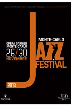 Monte-Carlo Jazz Festival 2013 Poster