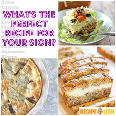 What's The Perfect Easy Recipe For Your Sign? Did I guess correctly?