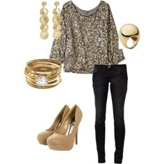 Perfect outfit for a night out