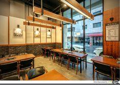 Restaurant Branding, Cafe Restaurant, Interior Design And Technology, Japanese Restaurant Design, Factory Design, Hospitality Design, Cafe Design, Interior Lighting, Interior And Exterior