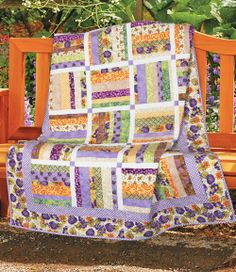Wine Country by Pearl Louise Krush (from Quilt Trends Magazine Spring 2014 issue)