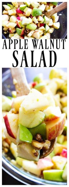 APPLE WALNUT SALAD -